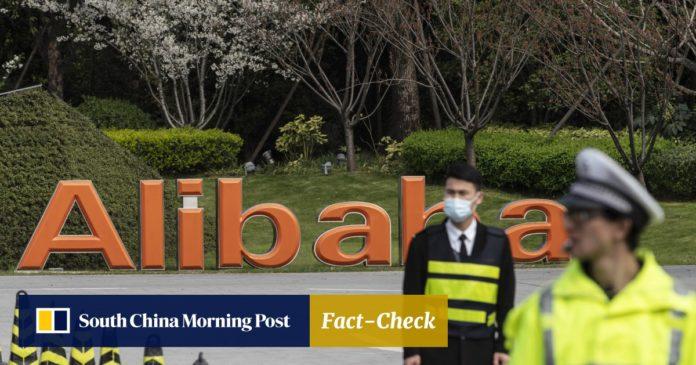 Алибаба получила большой штраф от китайского правительства