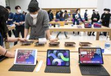 Выручка компании Apple выросла