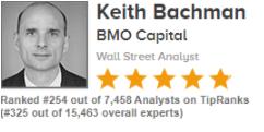 Рейтинговый аналитик из BMO Capital Keith Bachman