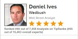 Аналитик из Wedbush Daniel Ives