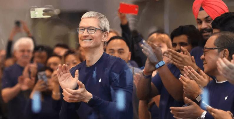Акции Apple подскочили на 4% после выхода отличных данных  по прибылям и выручке