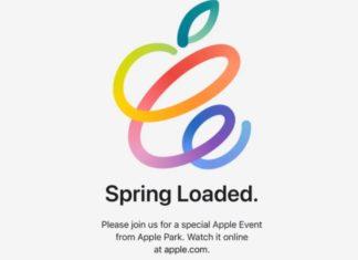 загружаем весну спец мероприятие Эппл