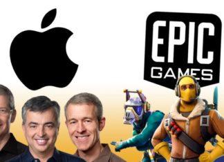 Epic GAmes судиться с Apple