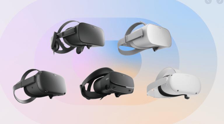 Шлемы виртуальной реальности Oculus